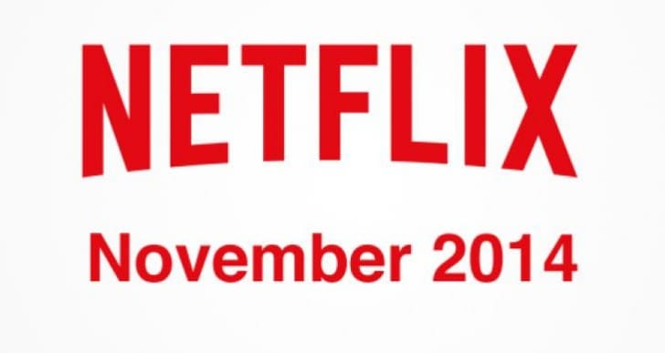 List of Netflix November 2014 streaming releases