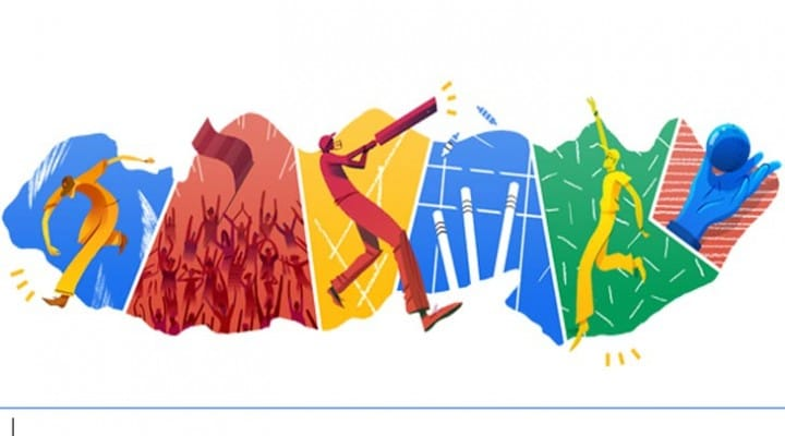 Live Cricket T20 simplified by Google