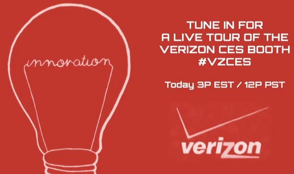 Live Verizon CES 2013 stream starts