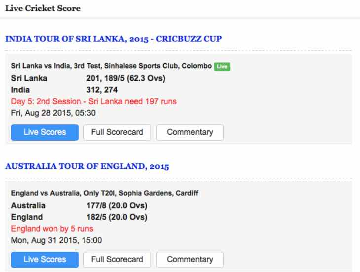 live county cricket scores