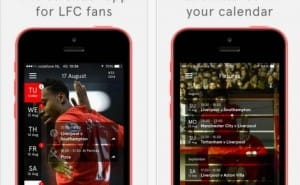 Liverpool FC fixtures with updated LFC calendar app