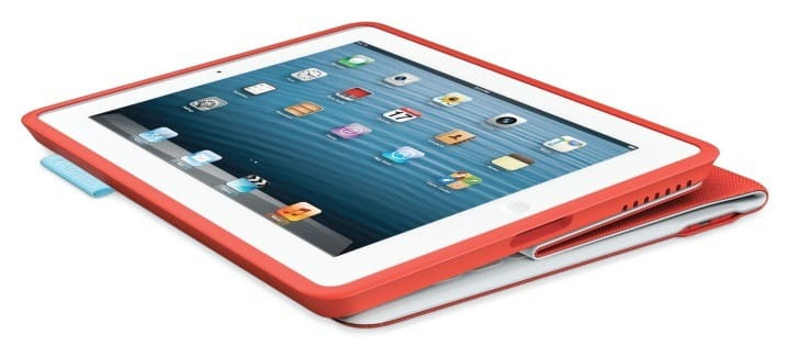 Logitech FabricSkin Keyboard Folio review assembly for iPad