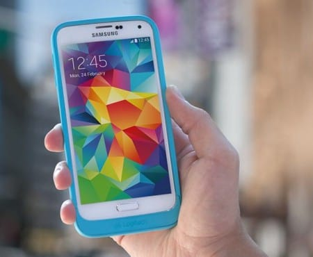 Logitech Galaxy S5 battery case gets rugged