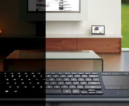 Logitech K830 keyboard review highlights missing features