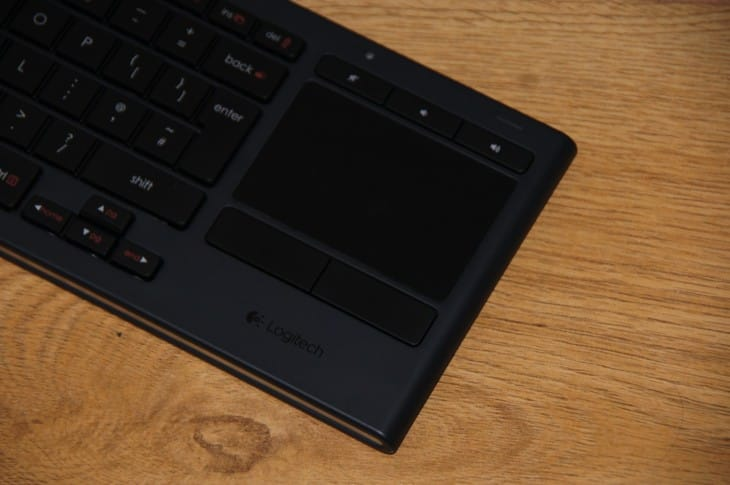 Logitech K830 keyboard review not for Mac 5