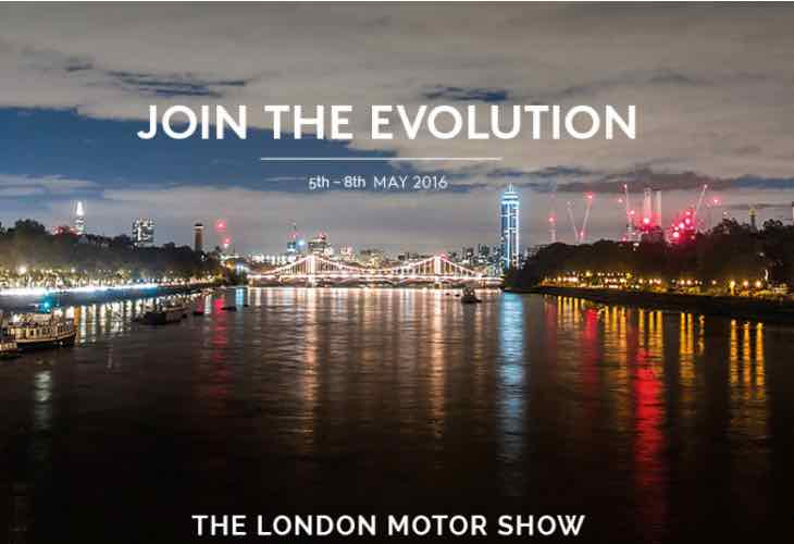 London Motor Show 2016 tickets
