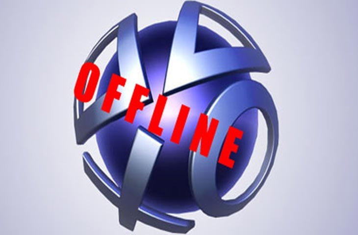 PSN sign in problems with maintenance error