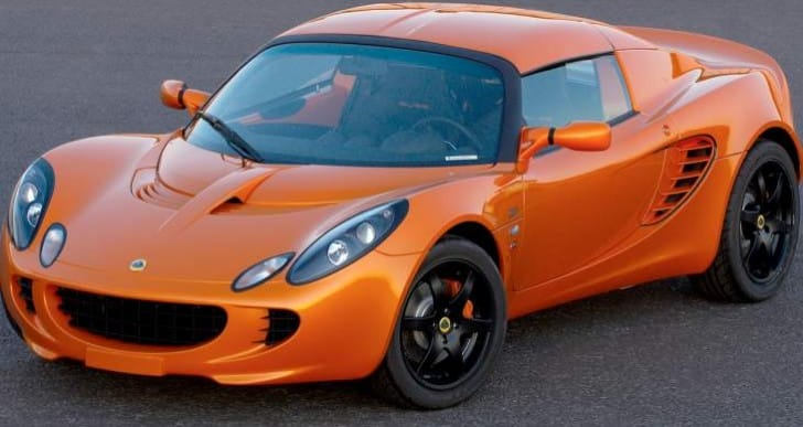 Lotus recalls 2007-2008 Elise and Exige models in 2013
