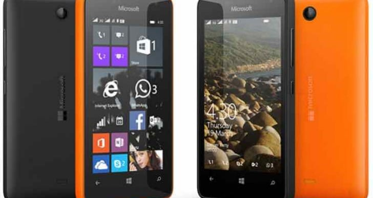 List of Windows 10 Mobile Lumia phones supported