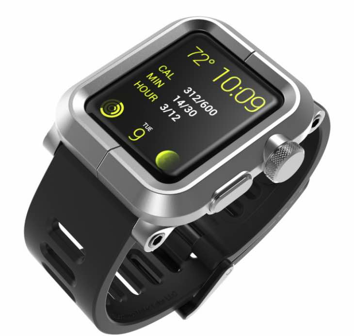 LunaTik Apple Watch case