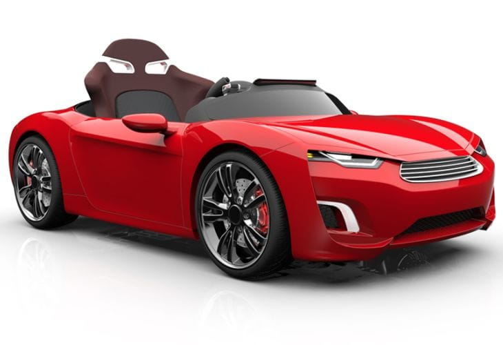 luxury electric car for children reasonable price questioned