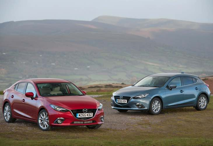 MAZDA3 SKYACTIV-D 1.5 UK variant from December 1