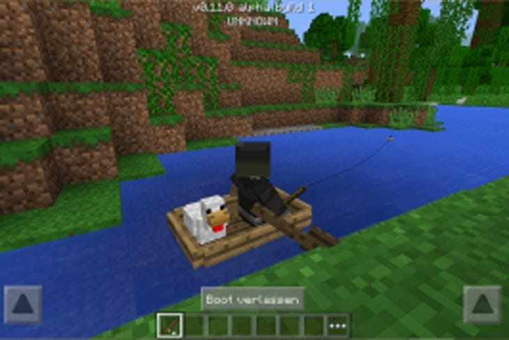 MCPE 0.12.1 build 7 with black screen, input lag fix