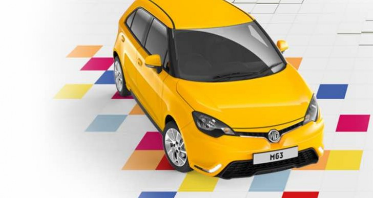 MG3 3Form Sport Easter incentive, £99 per month