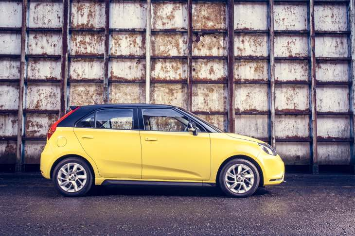 MG3 3Form Sport for £99 per month