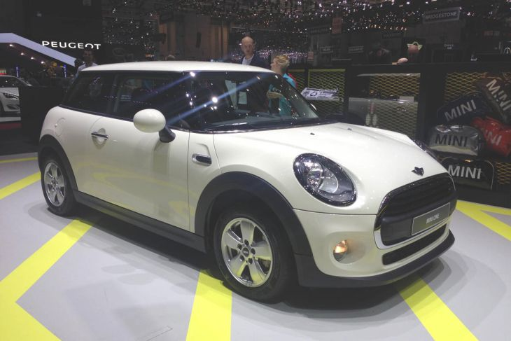 MINI One 2014 unveiled at Geneva Auto Show