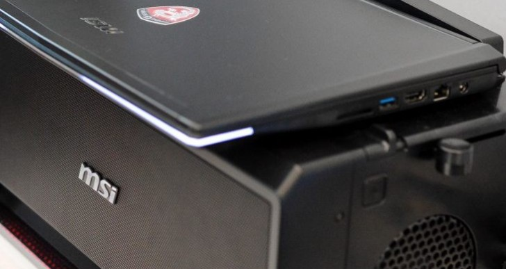 MSI graphics card dock reinvents laptop gaming