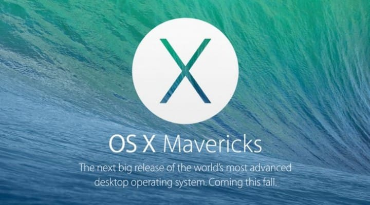 Mac OS X Mavericks compatibility and system requirements