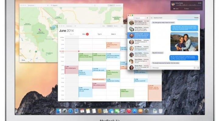 Mac OS X Yosemite system requirements