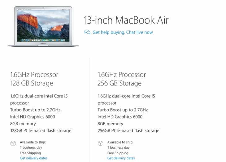 MacBook Air 2016 refresh