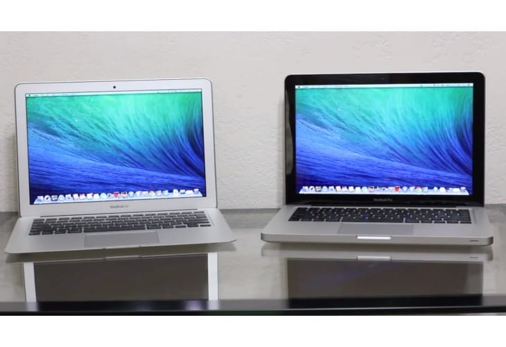 MacBook Pro vs. MacBook Air with Haswell review