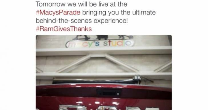 Macy's 2015 Thanksgiving Day Parade with Ram Trucks