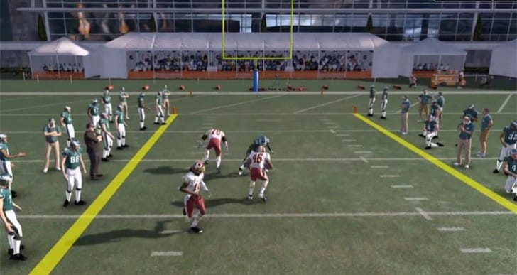 Madden 15 midnight launch party at GameStop