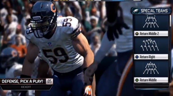 Dolphins vs Bills and 49ers vs Bears predictions in Madden 15