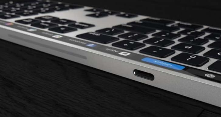 Magic Keyboard with Touch Bar design combats battery life concerns