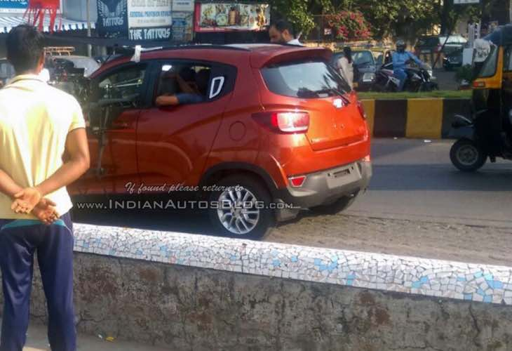 Mahindra KUV100 design