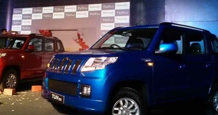 Mahindra TUV300 SUV launch reveals price list in India
