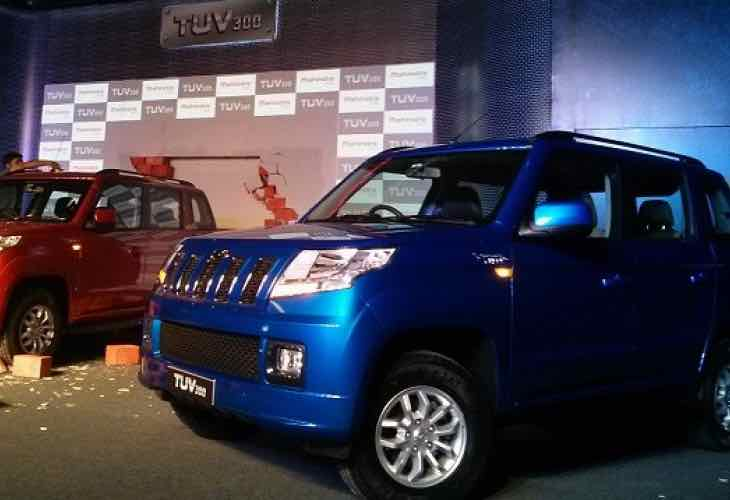 Mahindra TUV300 SUV launch