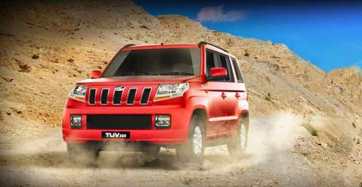 Mahindra TUV300 SUV price list in India