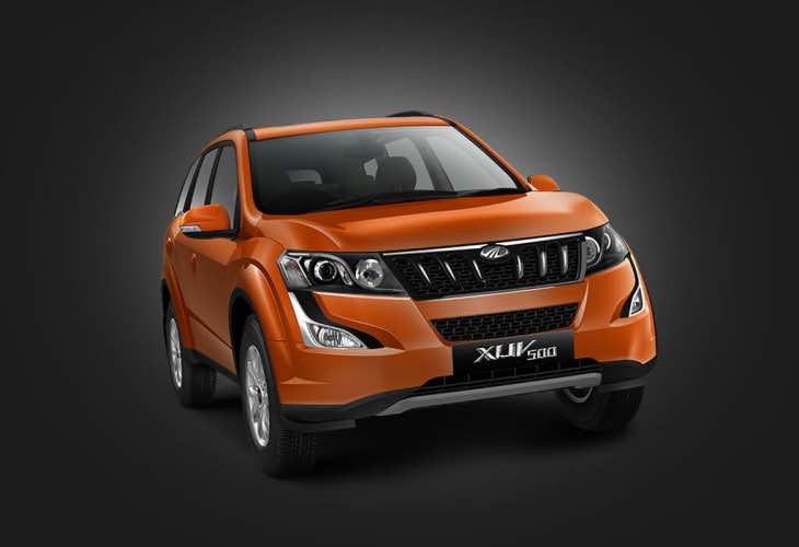 Mahindra XUV500 options