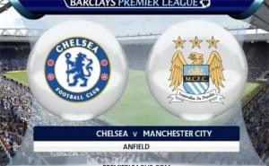 Man City Vs Chelsea with Aguero in FIFA prediction