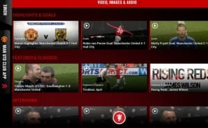 Manchester United news app hits version 3.0
