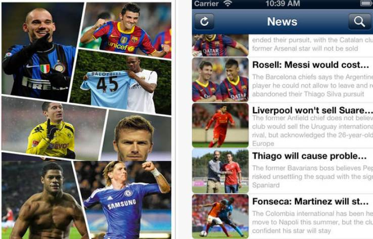 Manchester United transfer apps provide live commentaries, statistics and market value for players.