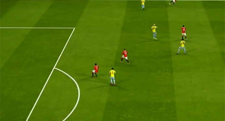 Man Utd VS CPFC SIM prediction with Falcao nonstarter