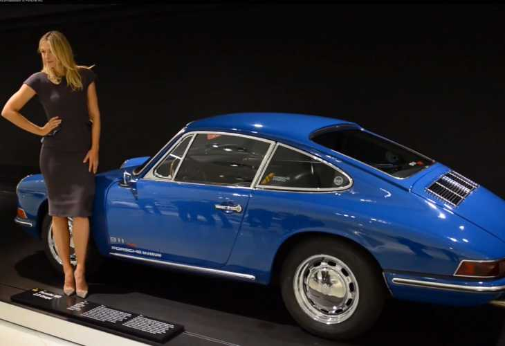 Maria Sharapova puts the hot back in Porsche