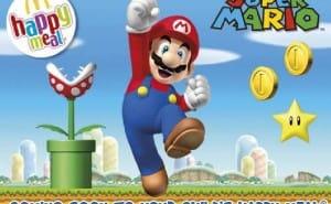 Nintendo use Super Mario to promote McDonald's