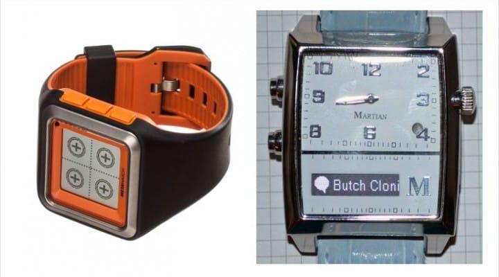 Martian Passport vs. Pebble smartwatches for life integration