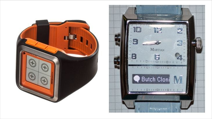Martian Passport vs. Pebble smartwatches for life integra