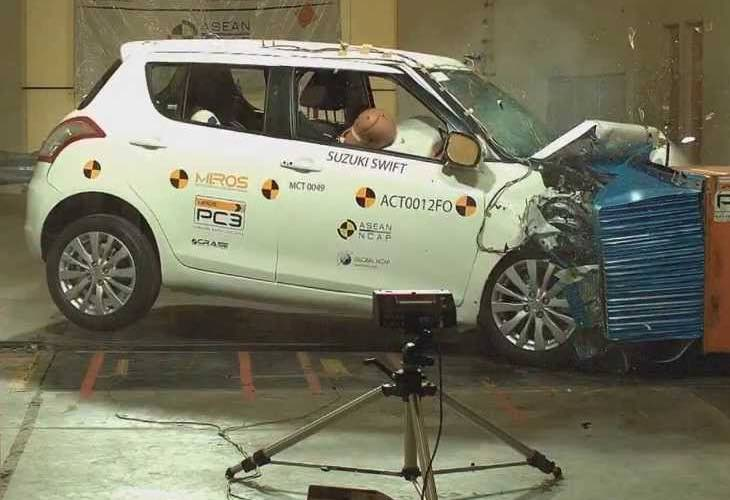 Maruti Swift crash test