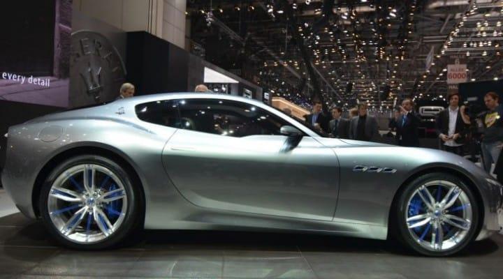 Maserati Alfieri concept celebrated at the Geneva Motor Show