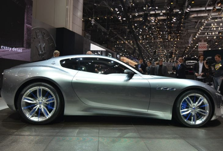 Maserati Alfieri concept celebrated at the Geneva Motor Show