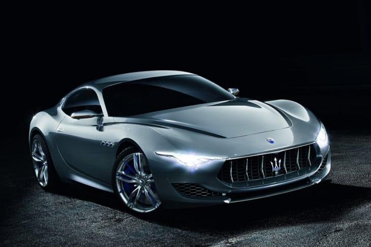 Maserati Alfieri to rival Jaguar F-type