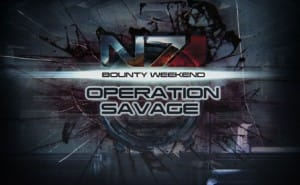Weekend Event: Mass Effect 3 multiplayer with Operation: Savage