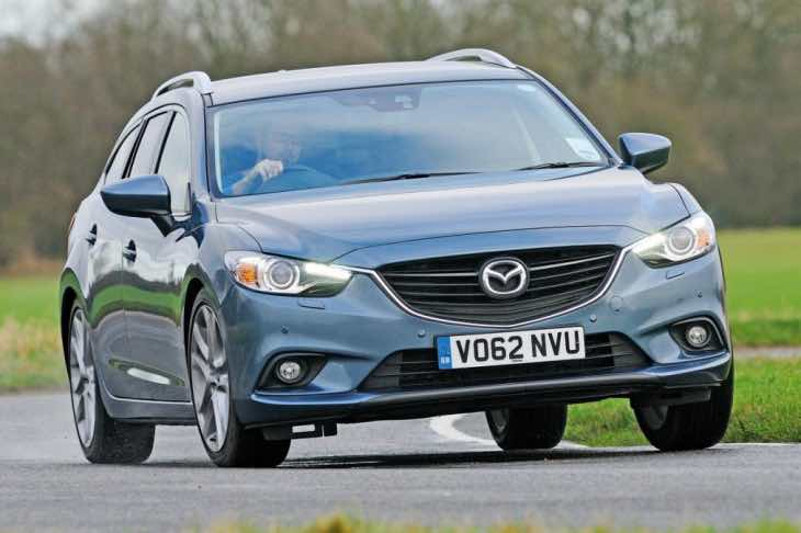 Mazda 6 tourer showdown