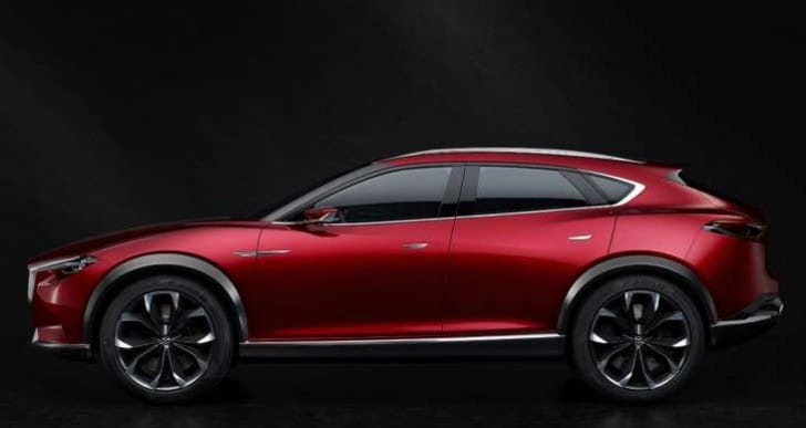 Mazda CX-4 coupe SUV details next month