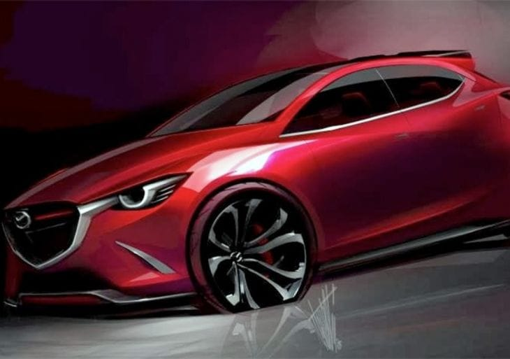 Mazda Hazumi concept design prematurely leaked 2